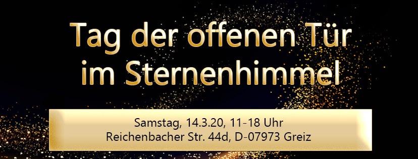 Tag der offenen Tür beim Sternensandverlag am 14.03.2020