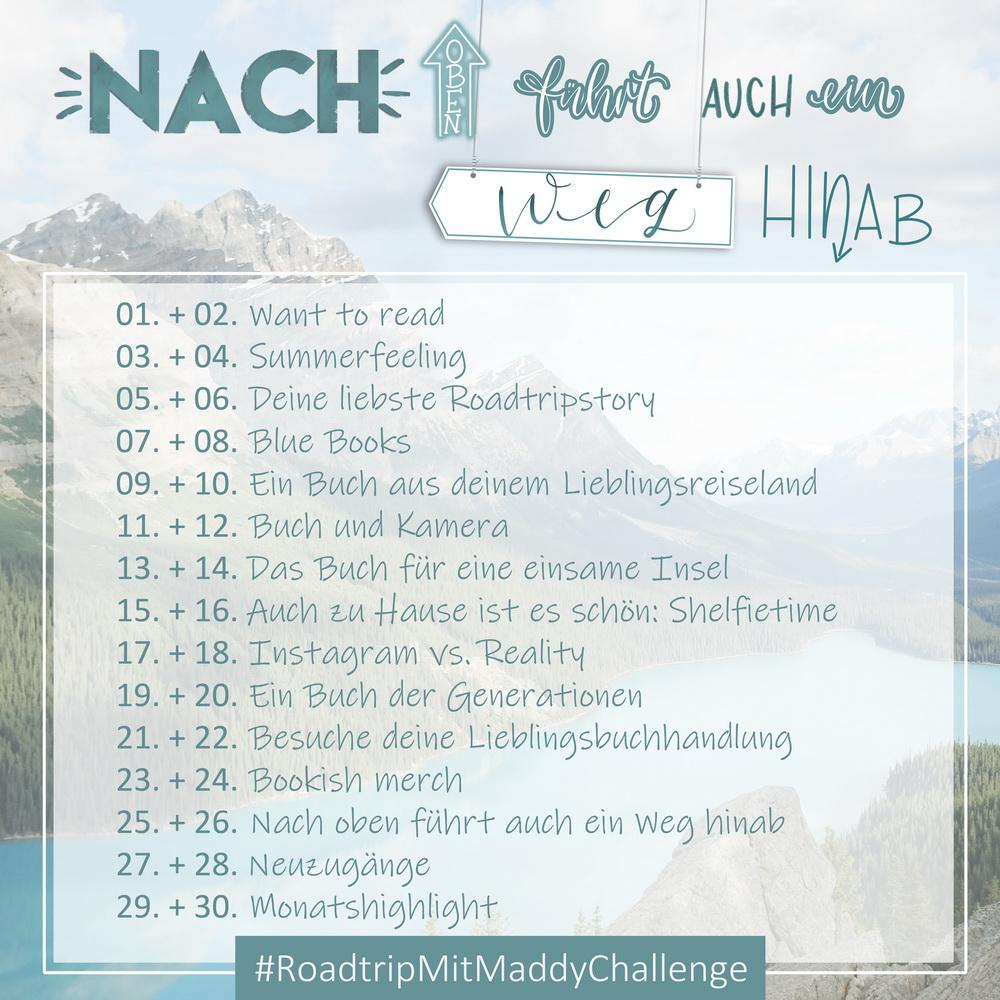 Instagram Buch Challenge Juni 2020