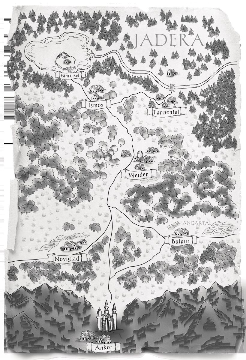 Karte Jadera Das Gift der Mondlilie