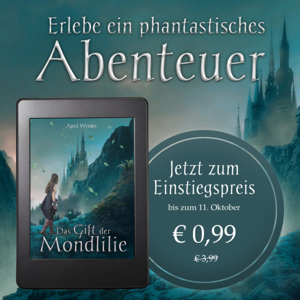 E-Book Preisaktion Das Gift der Mondlilie von April Wynter