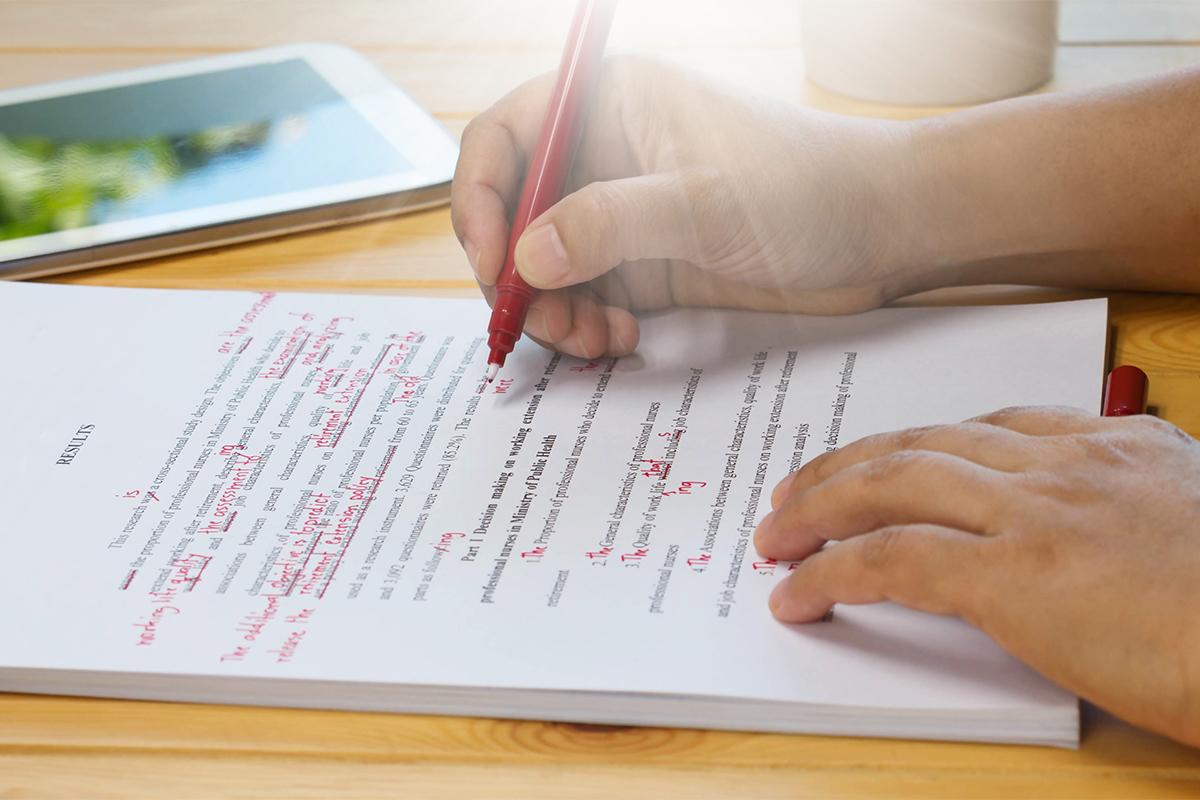 Typische Anfängerfehler beim Schrieben