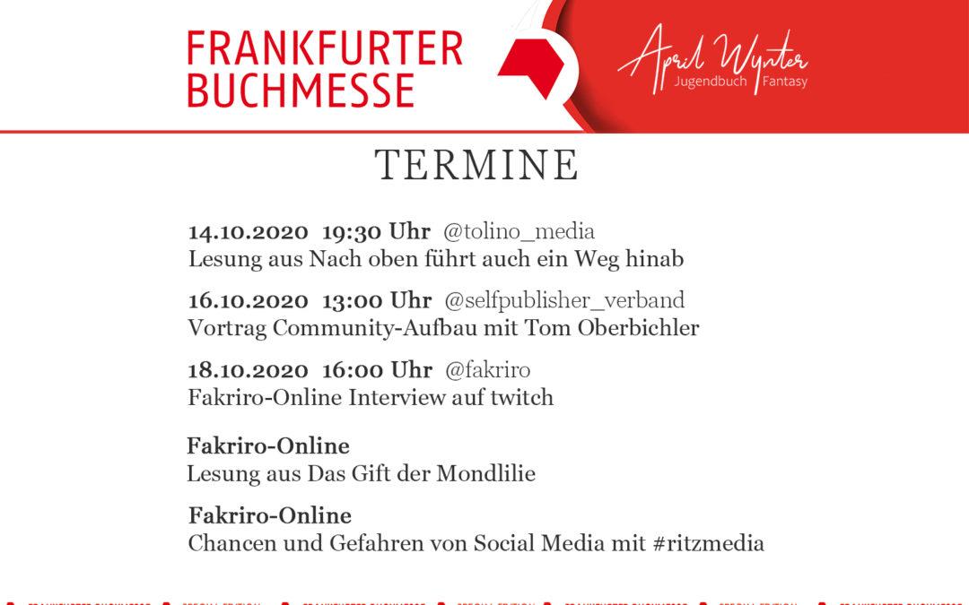 Frankfurter Buchmesse 2020 – Lohnt sich die Teilnahme an der digitalen Buchmesse?