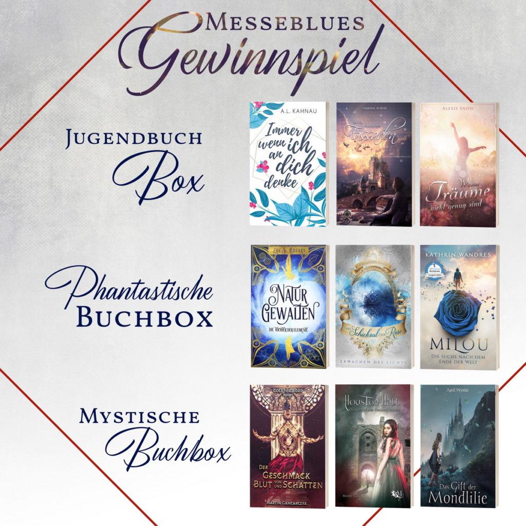 Frankfurter Buchmesse grosses Buechergewinnspiel mit Buchboxen