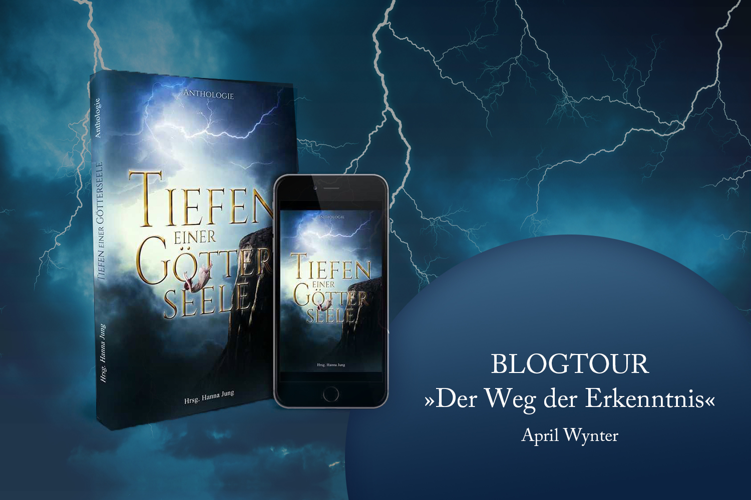 Blogtour April Wynter Anthologie Tiefen einer Goetterseele